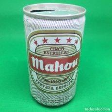 Coleccionismo Otros Botellas y Bebidas: LATA DE CERVEZA MAHOU CINCO ESTRELLAS 33CL. Lote 194784253