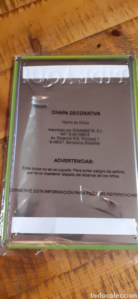 Coleccionismo Otros Botellas y Bebidas: SCHWEPPES SOLO PARA ADULTOS - CARTEL CHAPA - TU LIMÓN DE SIEMPRE - - Foto 6 - 194899242