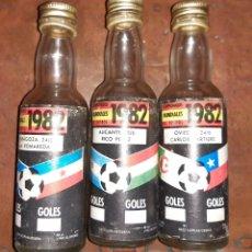 Coleccionismo Otros Botellas y Bebidas: BOLLETIN CAMPEONATO MUNDIAL FUTBOL 1982 LA ROMAREDA.RICO PEREZ. CARLOS TARTIERE. Lote 194900218