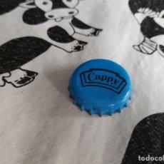 Coleccionismo Otros Botellas y Bebidas: CHAPA ZUMOS CAPPY BLUE (KM). Lote 194943791