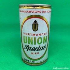 Coleccionismo Otros Botellas y Bebidas: LATA DE CERVEZA DORTMUNDER UNION SPECIAL BIER . Lote 195205885