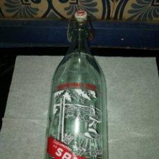 Coleccionismo Otros Botellas y Bebidas: ANTIGUA BOTELLA DE GASEOSA DE ESPUMOSOS SAMBA, ALBALATE DEL ARZOBISPO TERUEL. Lote 195238587