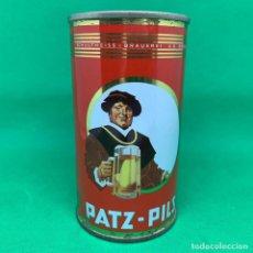 Coleccionismo Otros Botellas y Bebidas: LATA DE CERVEZA PATZ PILS - ALEMANIA/ GERMAN CAN BEER . Lote 195301368