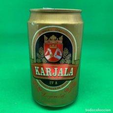 Coleccionismo Otros Botellas y Bebidas: LATA DE CERVEZA KARJALA - FINLANDIA / FINLAND CAN BEER. Lote 195317736