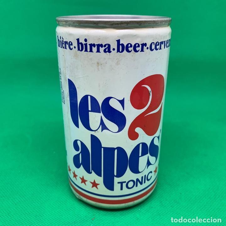 LATA DE CERVEZA LES 2 ALPES TONIC - FRANCIA / FRENCH CAN BEER (Coleccionismo - Otras Botellas y Bebidas )