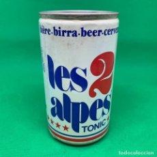 Coleccionismo Otros Botellas y Bebidas: LATA DE CERVEZA LES 2 ALPES TONIC - FRANCIA / FRENCH CAN BEER . Lote 195322712