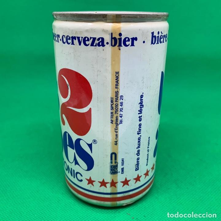 Coleccionismo Otros Botellas y Bebidas: LATA DE CERVEZA LES 2 ALPES TONIC - FRANCIA / FRENCH CAN BEER - Foto 2 - 195322712