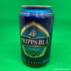 Coleccionismo Otros Botellas y Bebidas: LATA DE CERVEZA PRIPPS BLA- SUECIA/ SWEDISH CAN BEER. Lote 195323800