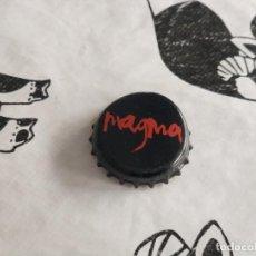 Coleccionismo Otros Botellas y Bebidas: CHAPA AGUA MINERAL CARBONATADA MAGMA 2 (CP). Lote 195378713