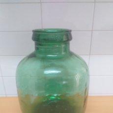 Coleccionismo Otros Botellas y Bebidas: GARRAFA CRISTAL, DAMAJUANA BOCA ANCHA 12 CENTÍMETROS. Lote 195388403