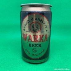 Coleccionismo Otros Botellas y Bebidas: LATA DE CERVEZA WARKA BEER - POLONIA/ POLISH CAN BEER . Lote 195407326