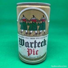 Coleccionismo Otros Botellas y Bebidas: LATA DE CERVEZA MARTECK PIR - SUIZA/ CAN BEER SWISS. Lote 195408301