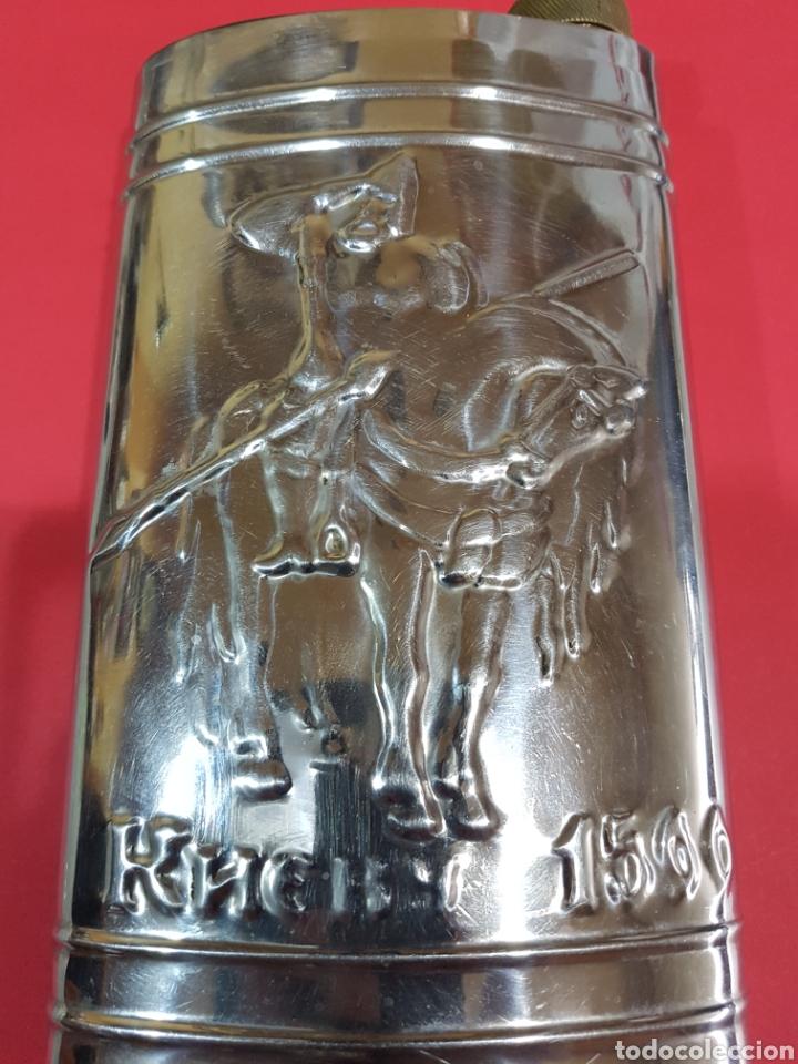 Coleccionismo Otros Botellas y Bebidas: PETACA GRANDES DIMENSIONES - Foto 4 - 195561348