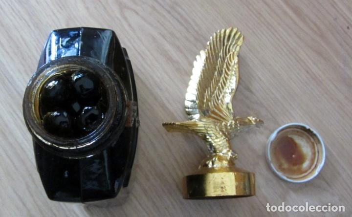 Coleccionismo Otros Botellas y Bebidas: BOTELLA CONSERVAS HELIOS ZARAGOZA AGUILA CLAVERIA PLAZA DEL PILAR LLENA - Foto 4 - 195624213