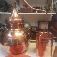 Coleccionismo Otros Botellas y Bebidas: ALAMBIQUE, DESTILADOR. COBRE. TAMAÑO DE 30 LITROS. NUEVO.. Lote 195812355