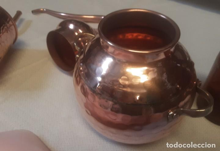 Coleccionismo Otros Botellas y Bebidas: Alambique, destilador. Fabricado en cobre. Pequeño tamaño 1 litro. Nuevo. - Foto 7 - 195812947
