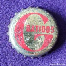 Coleccionismo Otros Botellas y Bebidas: ANTIGUA CHAPA TAPON CORONA. BATIDOS G. GURELESA. REFRESCO.. Lote 195967526