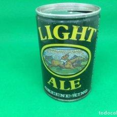 Coleccionismo Otros Botellas y Bebidas: LATA DE CERVEZA LIGHT ALE GREENNEKING 9 2/3. Lote 196632350