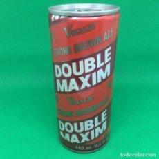 Coleccionismo Otros Botellas y Bebidas: LATA DE CERVEZA DOUBLE MAXIM VAUX STRONG BROWN ALE 440ML- REINO UNIDO - UK CAN BEER. Lote 196639077