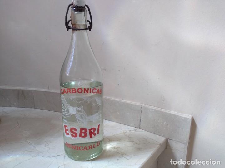 ANTIGUA GASEOSA ESBRI DE BENICARLO (CASTELLÓN) (Coleccionismo - Otras Botellas y Bebidas )