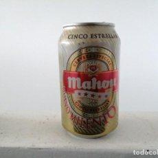 Coleccionismo Otros Botellas y Bebidas: LATA DE MAHOU CERVEZA MILENIO BIRRA BIERE BEER ESPAÑA. Lote 198140050