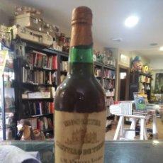 Coleccionismo Otros Botellas y Bebidas: BOTELLA DE MOSCATEL CASTILLO DE TIEBAS . Lote 198282478