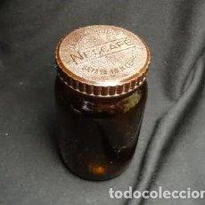 Coleccionismo Otros Botellas y Bebidas: ANTIGUO FRASCO DE NESCAFE, NESTLE, TARRRO. Lote 198464892