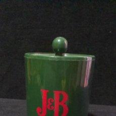 Coleccionismo Otros Botellas y Bebidas: CUBITERA - WHISKY J&B - CON TAPA - TURISOL. Lote 200046936