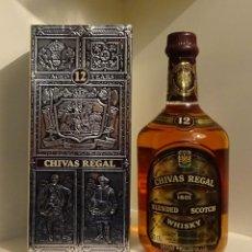 Coleccionismo Otros Botellas y Bebidas: CHIVAS REGAL 12 AÑOS CON SU CAJA ORIGINAL. Lote 200304902
