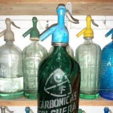 Coleccionismo Otros Botellas y Bebidas: SIFÓN CARBÓNICAS FOLGUERA SAN ADRIÁ DEL BESÓS . Lote 201913765