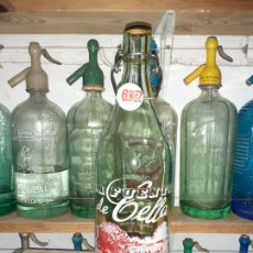 Coleccionismo Otros Botellas y Bebidas: BOTELLA DE GASEOSA LA FUENTE DE CELLA TERUEL. Lote 202258145