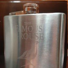 Coleccionismo Otros Botellas y Bebidas: PETACA WHISKY THE FAMOUS GROUSE 1.896. Lote 202477536