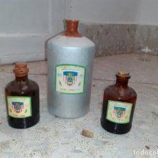 Coleccionismo Otros Botellas y Bebidas: FRASCO DE FARMACIA ESENCIAS . Lote 202495161
