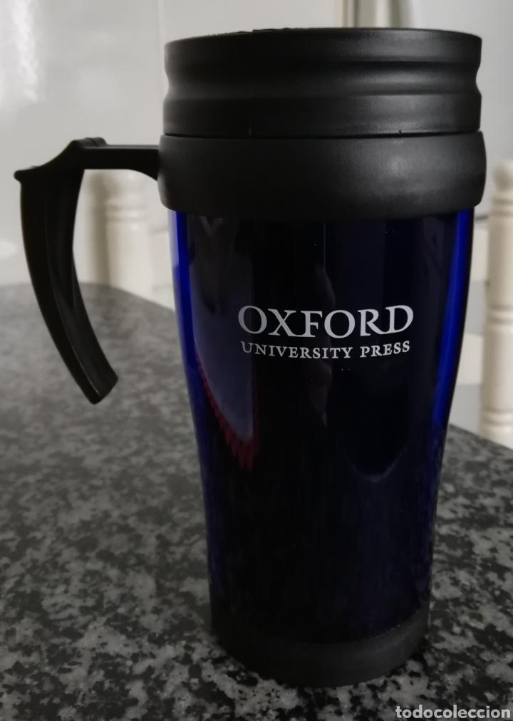 VASO CAFE EDITORIAL OXFORD (Coleccionismo - Otras Botellas y Bebidas )
