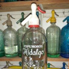 Coleccionismo Otros Botellas y Bebidas: SIFÓN HIDALGO DE VILLA DE DON FADRIQUE TOLEDO. Lote 202880088