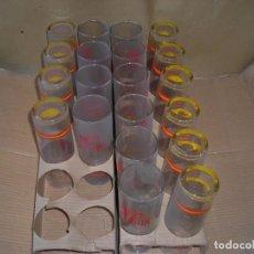 Coleccionismo Otros Botellas y Bebidas: VASOS DUFF GORDON. Lote 202883683