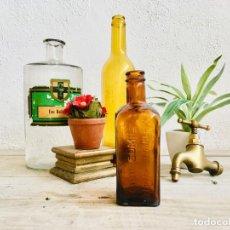 Coleccionismo Otros Botellas y Bebidas: ANTIGUA BOTELLA DE CEREGUMIL DE CRISTAL BOTE DE FARMACIA TONICO DE VIDRIO FRASCO ALIMENTO. Lote 203763213