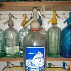 Coleccionismo Otros Botellas y Bebidas: SIFÓN LA GAVANENSE DE GAVÁ // MODELO RARO. Lote 204080836