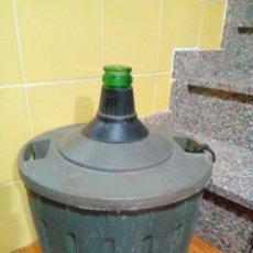 Coleccionismo Otros Botellas y Bebidas: GARRAFA DAMAJUANA MARCA VIRESA 16 L. Lote 204568528