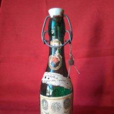 Coleccionismo Otros Botellas y Bebidas: AGUA OXIGENDA FORET - ANTIGUA BOTELLA VACÍA CON SU PRECINTO ORIGINAL - LABORATORIOS FORET. Lote 204689050