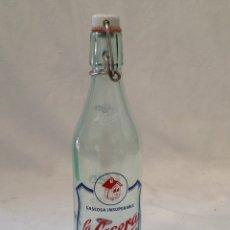 Coleccionismo Otros Botellas y Bebidas: BOTELLA GASEOSA LA CASERA MEDIO LITRO. Lote 205408717