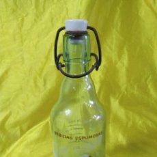 Coleccionismo Otros Botellas y Bebidas: GASEOSA EL SIGLO BEBIDAS ESPUMOSAS JOSE MONTAÑANA (ENVIO PENINS MENS GRATIS). Lote 206136975