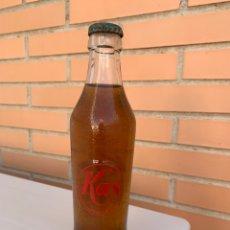 Coleccionismo Otros Botellas y Bebidas: BOTELLA ANTIGUA KAS. LLENA. 225 CC. Lote 206413843
