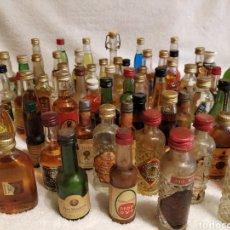 Coleccionismo Otros Botellas y Bebidas: BOTELLITAS VARIAS MARCAS. Lote 206571557