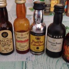 Coleccionismo Otros Botellas y Bebidas: BOTELLITAS MINIATURA. Lote 207011496