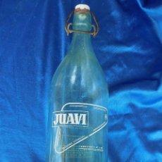 Coleccionismo Otros Botellas y Bebidas: BOTELLA GASEOSA JUAVI. Lote 207287780