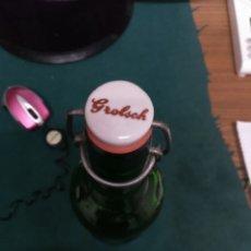 Coleccionismo Otros Botellas y Bebidas: BOTELLA DE CERVEZA GROLSCH. Lote 207786612