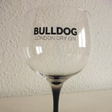 Coleccionismo Otros Botellas y Bebidas: COPA GINEBRA BULLDOG LONDON DRY GIN. Lote 209766793