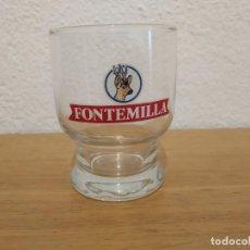 Coleccionismo Otros Botellas y Bebidas: VASO FONTEMILLA. Lote 210384442