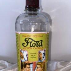 Coleccionismo Otros Botellas y Bebidas: ANTIGUA BOTELLA LOCIÓN CAPILAR FLOID HAUGROQUINA. Lote 210389890
